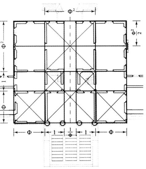 Plan Apartment figure 4 for rachel fletcher s quot the golden proportion