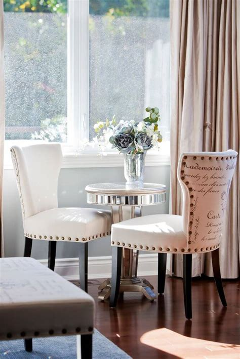 small table and chair for bedroom stunning open concept custom home by rebecca mitchell