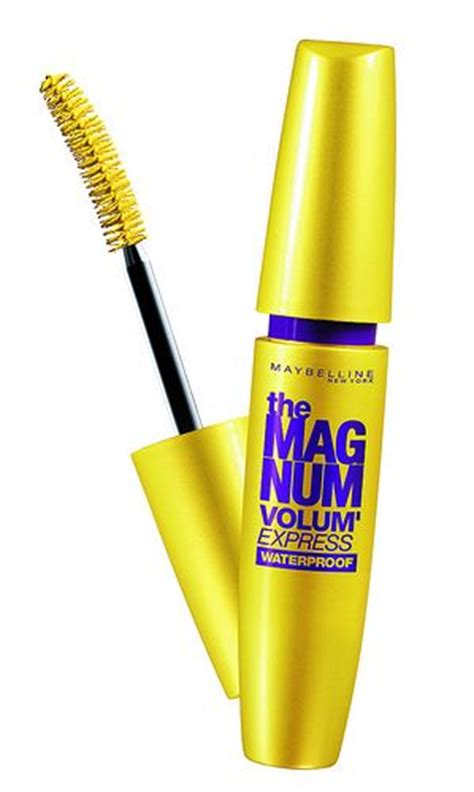 Mascara Magnum Volume Express maybelline magnum volum express waterproof mascara reviews