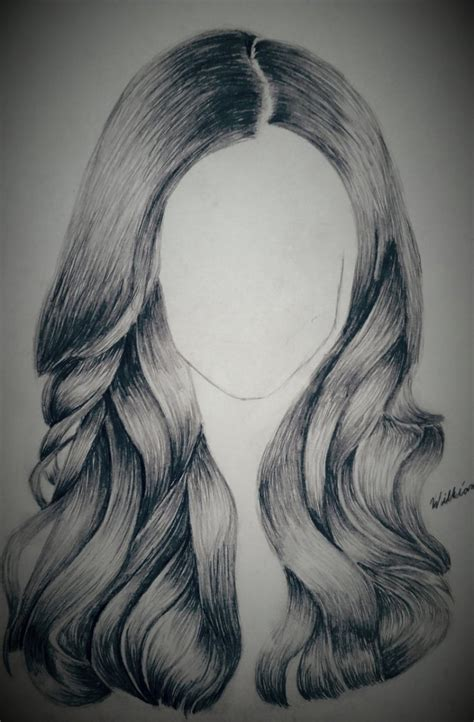 Sketches Hair by Drawing Hair In Pencil Drawing Pencil