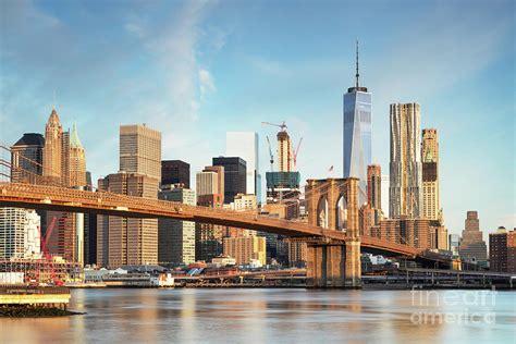 Home Decor Blogs Usa by Brooklyn Bridge And Lower Manhattan Skyline New York