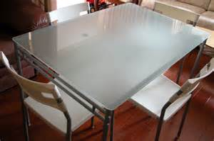 table frosted top tempered: table top ikea cute table  chairs set ikea torsby tempered
