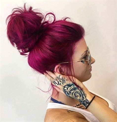 mens magenda colored hair 20 unboring styles with magenta hair color burgundy hair