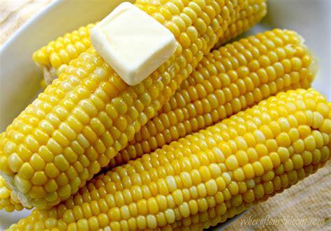 milk boiled corn on the cob