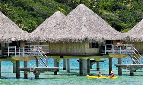 bora bora bungalow resorts intercontinental bora bora le moana resort tahiti