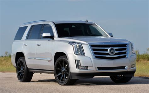 Coolest Lamborghini by 842bhp Hennessey Cadillac Escalade In Action