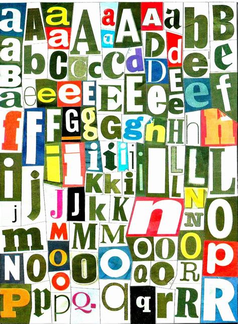 printable magazine letters first grade wow magazine letters at your fingertips