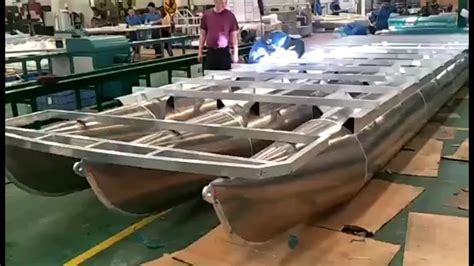 luxury pontoon boat brands 19ft luxury aluminium pontoon boat for fishing and party