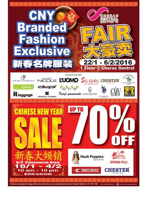 Sale Tas Wanita Exclusive 201 cheras sentral new year sale fashion clothing sale in malaysia