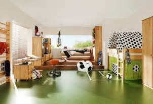 modern football bedroom theme design and decor ideas for