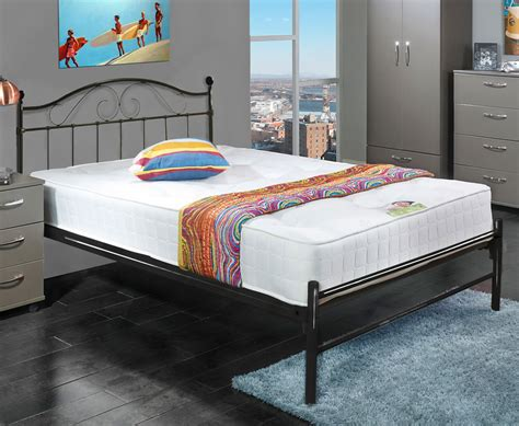 black metal bed frame exmoor small 4ft black metal bed frame