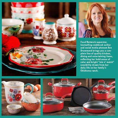 ree drummond cookware line at walmart pioneer woman new line of dishes can be found at walmart