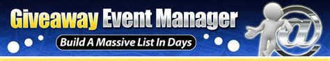 Internet Marketing Giveaway Events - giveaway event manager
