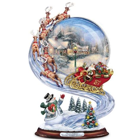 thomas kinkade christmas figurines