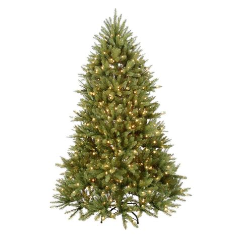 home accents holiday 7 5 ft pre lit dunhill fir hinged