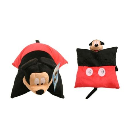 disney mickey mouse 2 in 1 plush cushion and stuffed soft