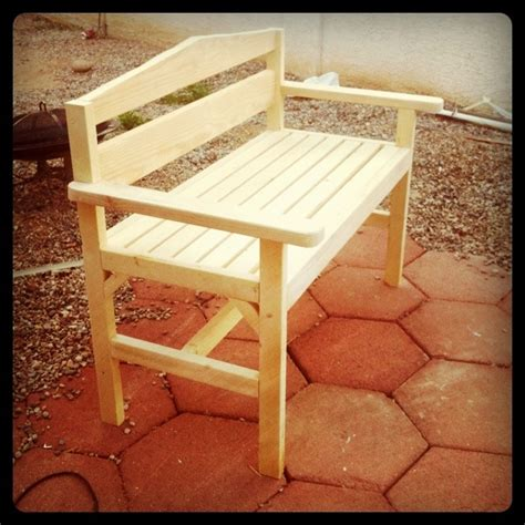 easy garden bench plans ana white garden bench diy projects