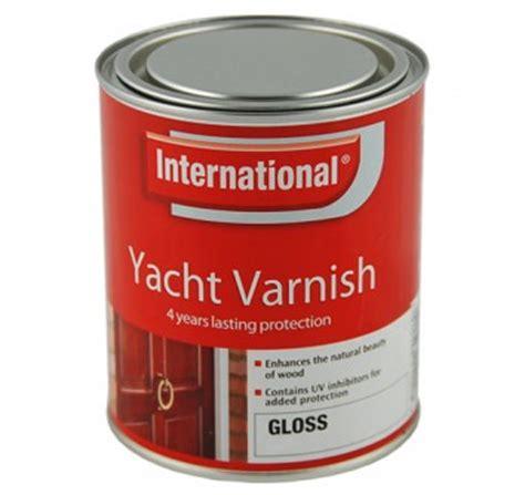 yacht varnish international yacht varnish clear gloss 250ml rock