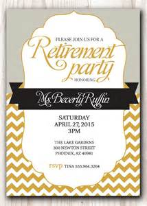 16 retirement invitation templates free sle exle format free premium