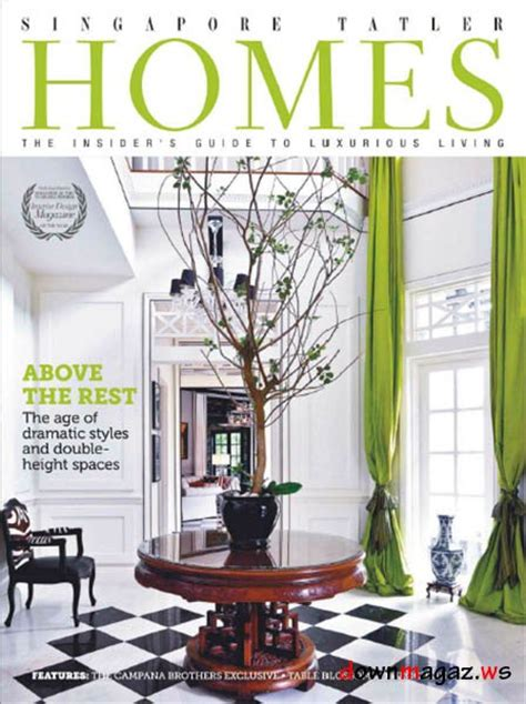 home design magazines singapore singapore tatler homes magazine october november 2012