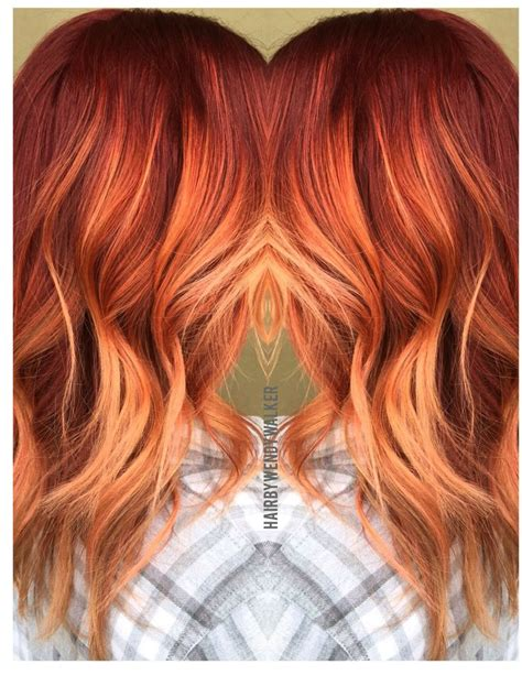 hair coloring ginger copper 17 best ideas about red balayage hair on pinterest red