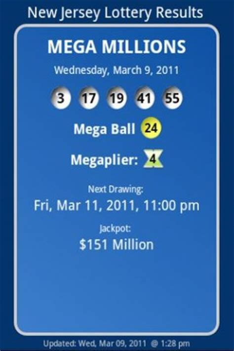android lottery post new jersey lottery results app for android