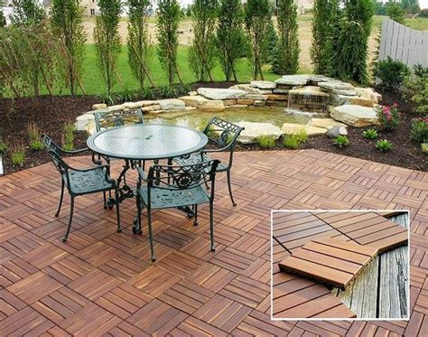 Patio Deck Flooring Options by Modular Outdoor Flooring Tile Pits And Fireplaces