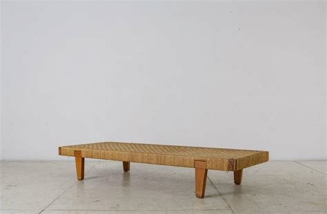 mexican benches mexican wood and cane bench or daybed 1950s for sale at