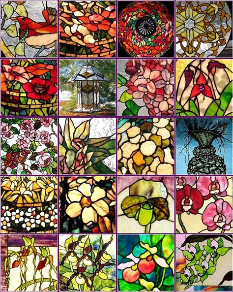stained glass l parts stained glass wind chime patterns browse patterns