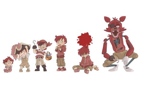 Foxy True Color foxy timeline by kikaigaku on deviantart