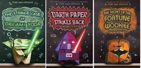 The Origami Yoda Series - tatal at the arlington library attack of