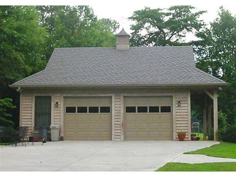 garage plans with porch 2 car garage plans detached two car garage plan with country styling 006g 0052 at
