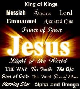 jesus name above all names