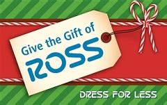 Ross Gift Card - check ross stores gift card balance giftcardplace com
