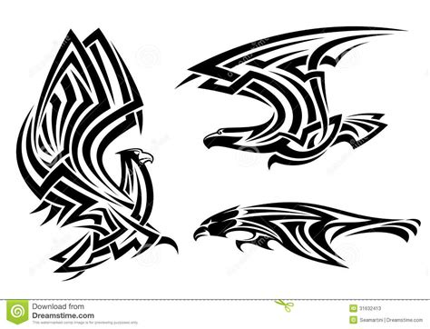 tribal falcon tattoo 11 fantastic falcon designs and ideas