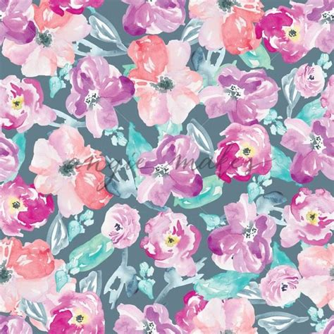 flower pattern modern modern watercolor flower pattern this adorable