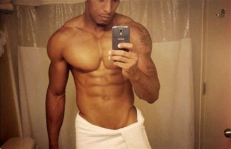 guy bathroom selfie jacked and ripped hunk does a bathroom selfie in a white