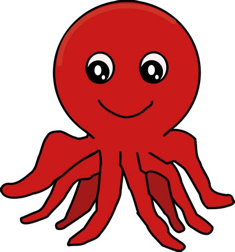 octopus clipart free to use domain octopus clip