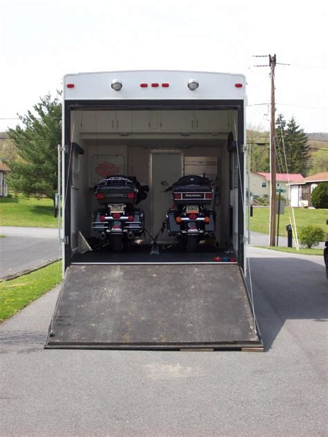 Garage For Rv toy haulers page 2 harley davidson forums