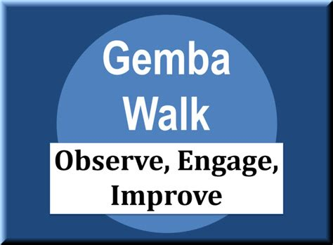 Ge Mba by Gemba Walk