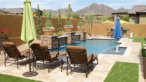 modern backyard arizona backyard ideas on a budget
