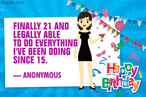 bday quotes 21st birthday quotes that celebrate youth vitality and