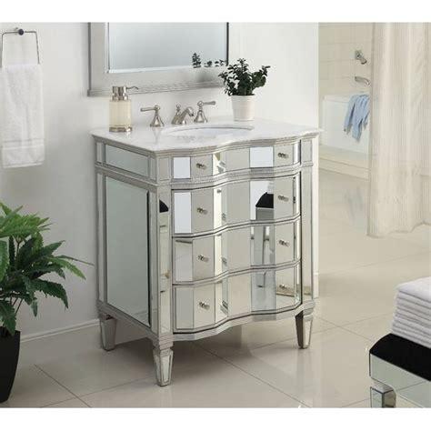 sink mirrored bathroom vanity mirrored vanities easy home concepts