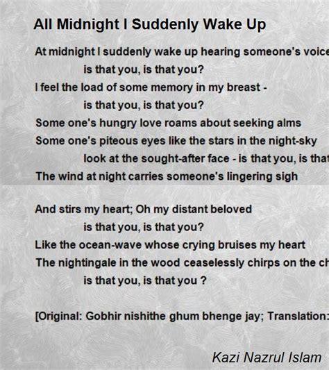 kazi nazrul islam biography in english all midnight i suddenly wake up poem by kazi nazrul islam