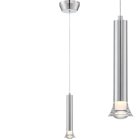Modern Hanging Ls by Lite Source Ls 19530 Divina Modern Chrome Led Mini Hanging