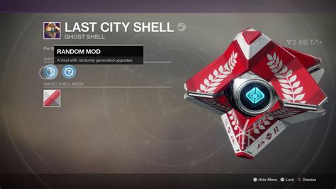 Last Ghost destiny 2 last city legendary ghost shell appearance
