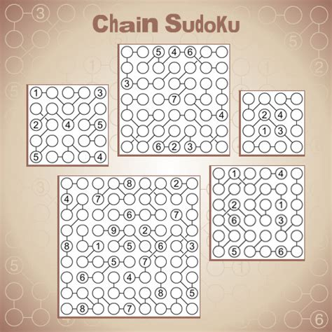 printable chain sudoku puzzles chain sudoku a new twist on the world s most popular puzzle