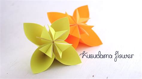 Origami Kusudama Flower - origami kusudama flower my crafts and diy projects