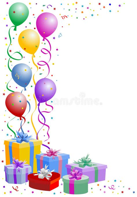 party balloon stock vector illustration