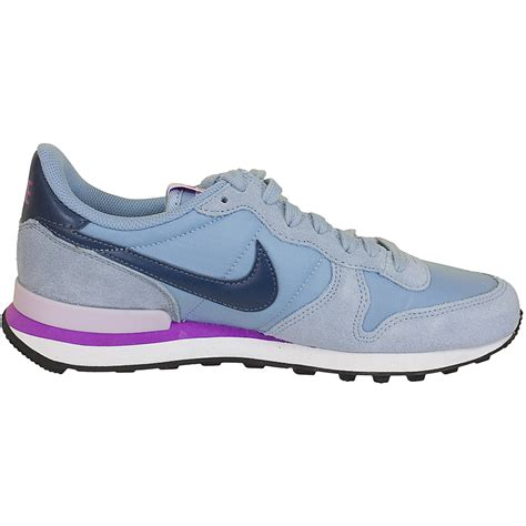 nike damen sneaker internationalist graublau hier